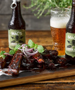 Hickory BBQ Beer Ribs