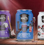 Mac's new canned brews
