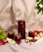 Raspberry and Apple Sangria