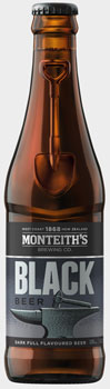 beer, Monteith's, Monteiths, coffee, Monteith's Black Beer