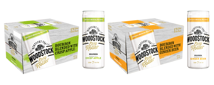 bourbon, Woodstock bourbon, bourbon and apple, bourbon and ginger ale, Woodstock