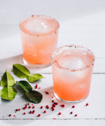 Tickled Pink Margarita