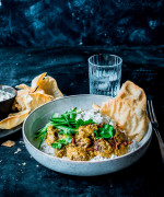 Cashew and Coconut Lamb Curry