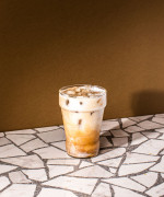 Rum and Coconut Iced Coffee