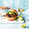 Bourbon Chipotle Chicken Burger
