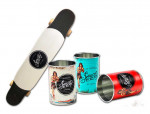 WIN a Sailor Jerry longboard and 12 vintage collectible cans